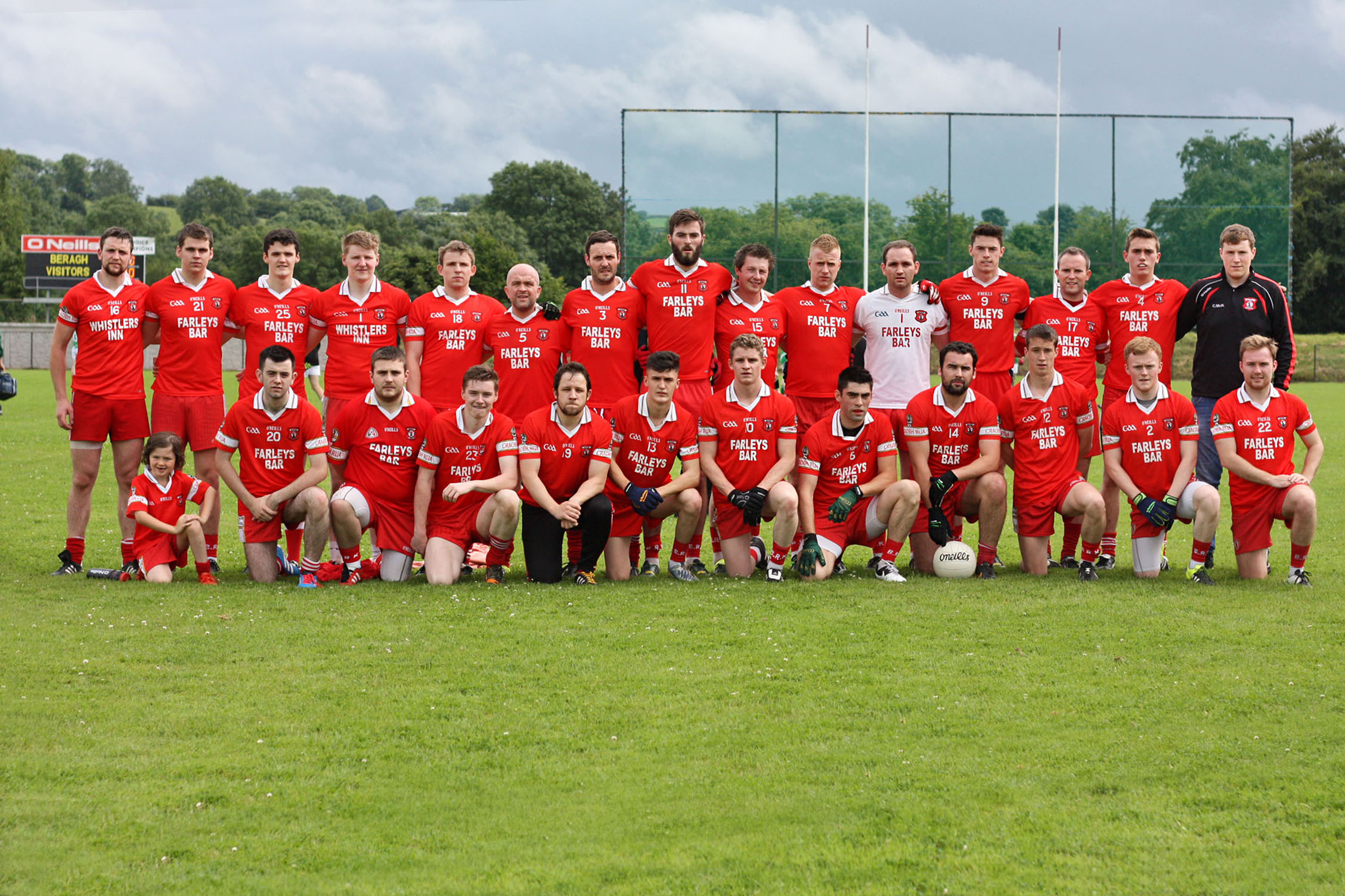 Beragh Red Knights Senior Men 2016