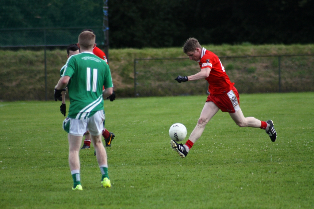 Niall Owens on the attack