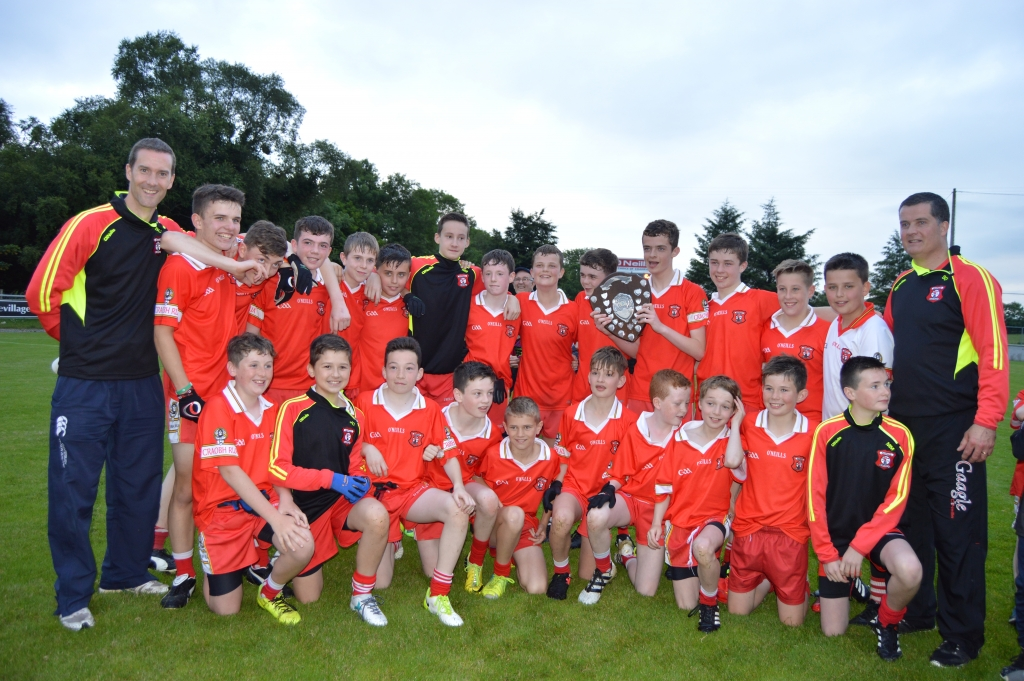 U14 Boys League, Championship and Feile winners 2017.